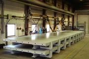 Вибростолы  для производства стеновых панелей.