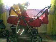 детск.коляску зима-лето 4-х колёсную Пр-во Польша