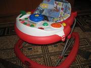 Ходунки дети выпускаются вместе с активной игрушкой